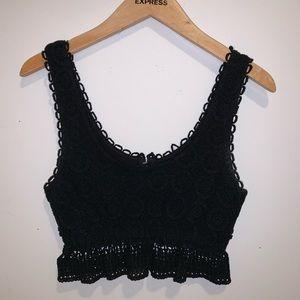 PacSun Crochet Crop Top